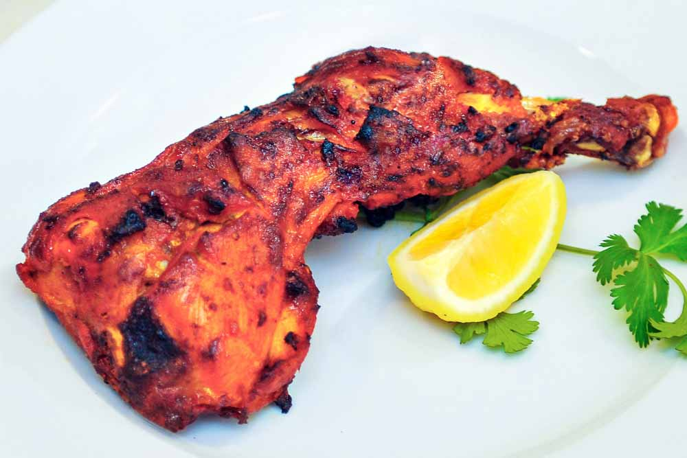 Chicken Tikka Leg 4 Pcs Bone Spicy Time