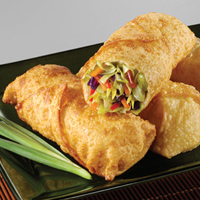 VEGETABLE EGG ROLLS (4 PC)